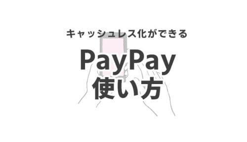 【終了】2/12から第二弾20%還元キャンペーン復活!PayPay(ペイペイ)のメリット・デメリットを徹底解説!